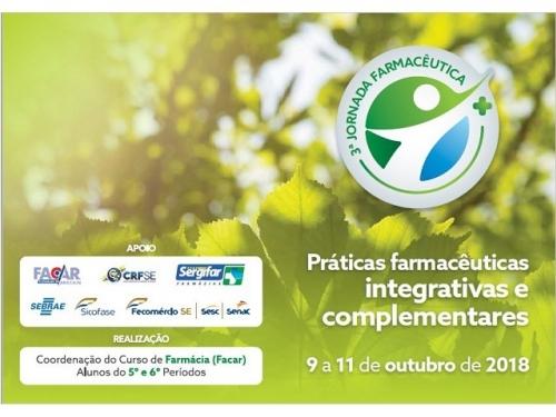 3ª JORNADA FARMACÊUTICA (FACAR): PRÁTICAS INTEGATIVAS E COMPLEMENTARES