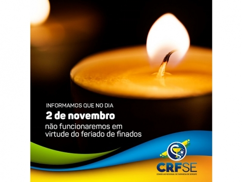 FERIADO - 2 DE NOVEMBRO