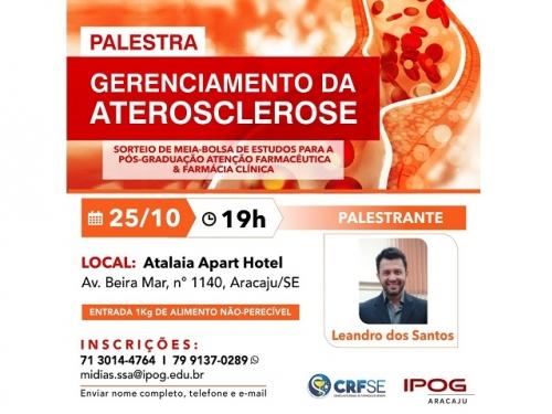 PALESTRA: GERENCIAMENTO DA ATEROSCLEROSE