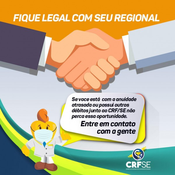 FIQUE LEGAL COM O CRF/SE