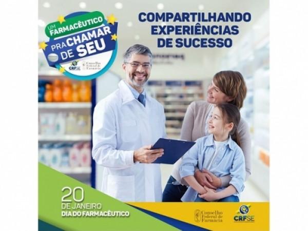 CRF/SE PROMOVE ATIVIDADES EM HOMENAGEM AO DIA DO FARMACÊUTICO