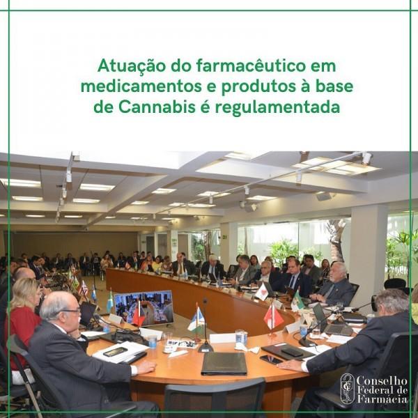 ATUAÇÃO DO FARMACÊUTICO EM MEDICAMENTOS E PRODUTOS À BASE DE CANNABIS É REGULAMENTADA