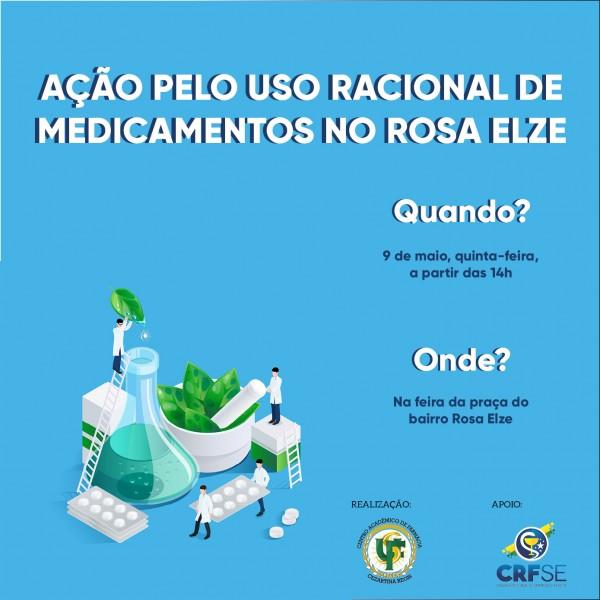 Ação pelo Uso Racional de Medicamentos no Rosa Elze