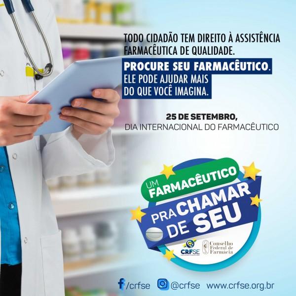 Um farmacêutico pra chamar de seu - Dia Internacional do Farmacêutico 2018