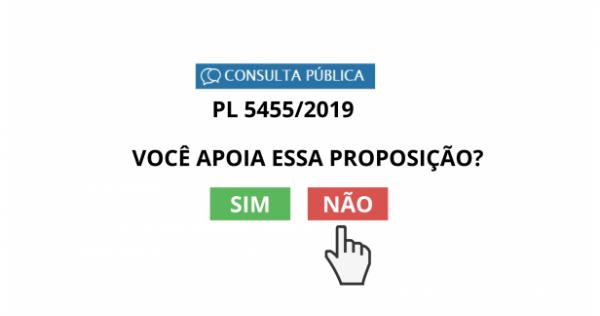 SISTEMA CFF/CRFS É CONTRA O PROJETO DE LEI N° 5455/19
