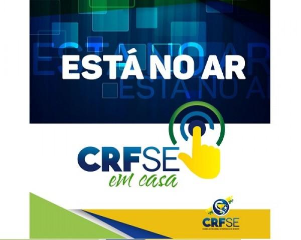 CRF/SE CONTRATA NOVO SISTEMA PARA REALIZAÇÃO DE SERVIÇOS ONLINE