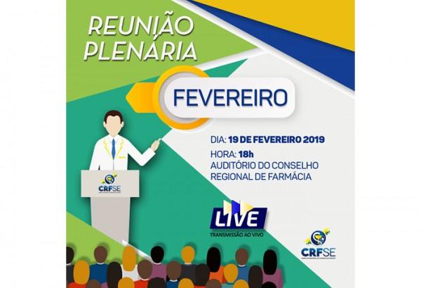 REUNIÃO PLENÁRIA DO MÊS DE FEVEREIRO