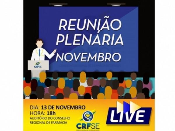 REUNIÃO PLENÁRIA DO MÊS DE NOVEMBRO