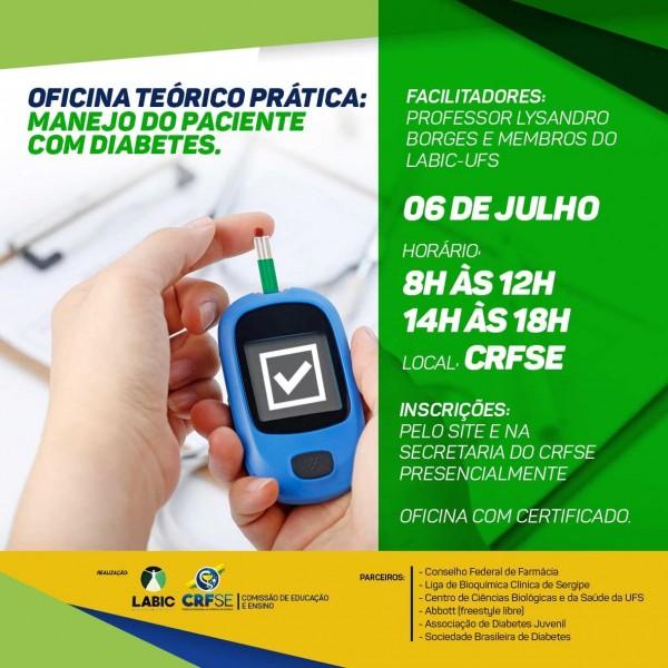 OFICINA TEÓRICO-PRÁTICA SOBRE O MANEJO DO PACIENTE COM DIABETES