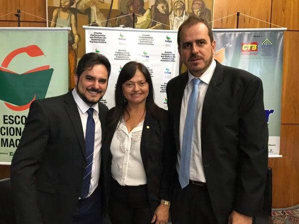 CRF/SE participa da Frente Parlamentar na luta pela Assistência Farmacêutica!