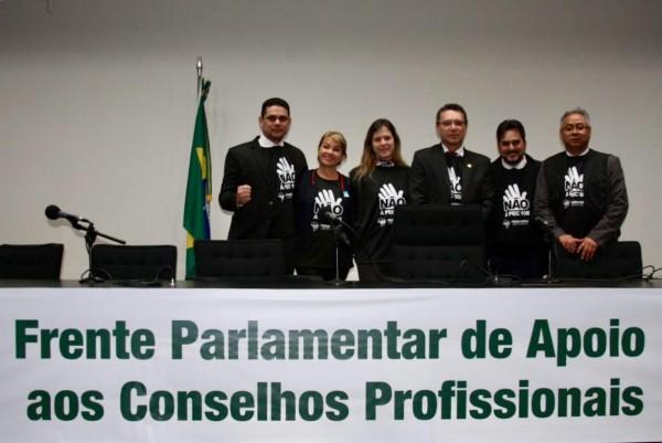 CRF/SE na luta pela Continuidade dos Conselhos de Profissões