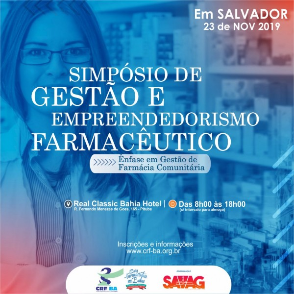 Simpósio de Gestão e Empreendedorismo Farmacêutico