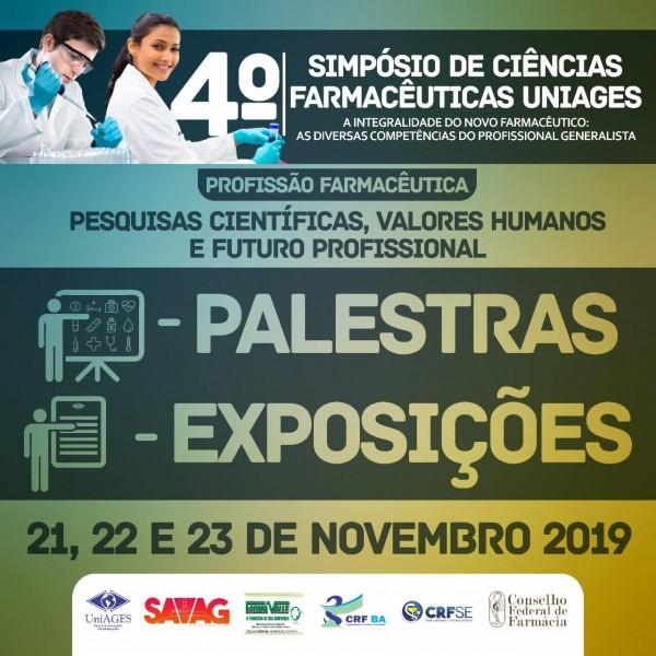 IV Simpósio de Ciências Farmacêuticas do UniAGES