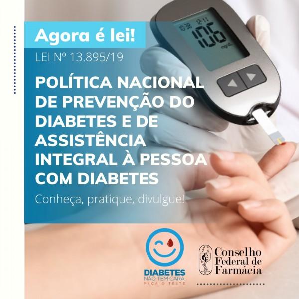 BRASIL GANHA POLÍTICA NACIONAL DE PREVENÇÃO AO DIABETES