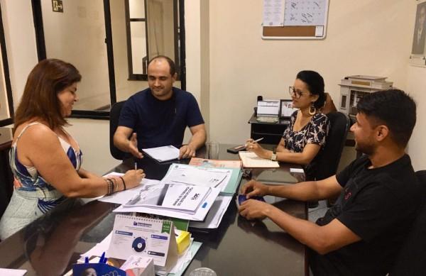 REUNIÃO DE TRANSIÇÃO DE TESOURARIA DA NOVA GESTÃO