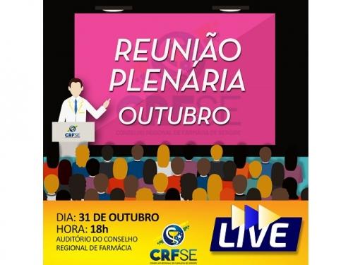 REUNIÃO PLENÁRIA DO MÊS DE OUTUBRO
