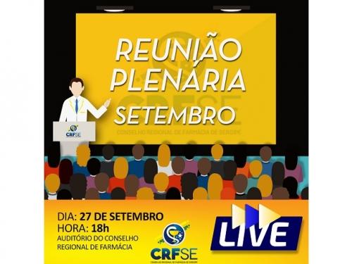 REUNIÃO PLENÁRIA DO MÊS DE SETEMBRO