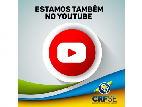 CANAL DO CRF/SE NO YOUTUBE