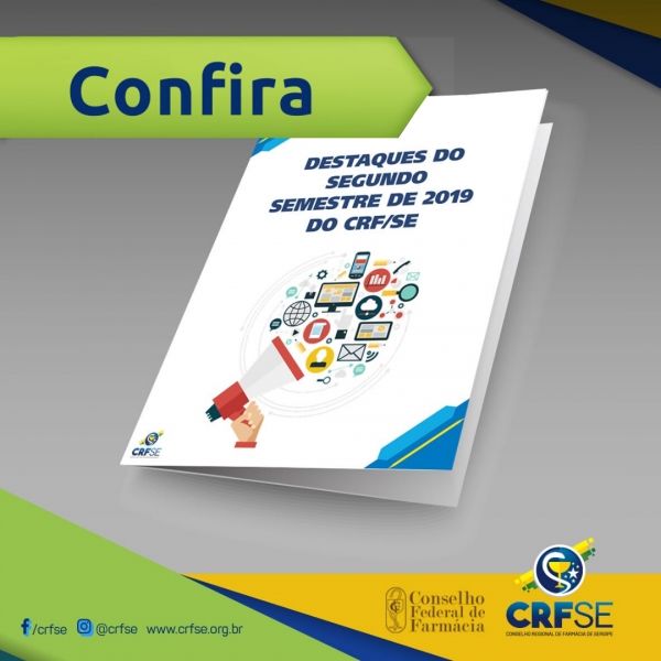 SEGUNDO SEMESTRE DE 2019 DO CRF/SE